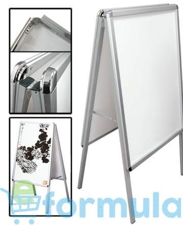 Modne ubrania Potykacz B2 tablica reklamowa, dwustronna, profil aluminiowy o ZN38