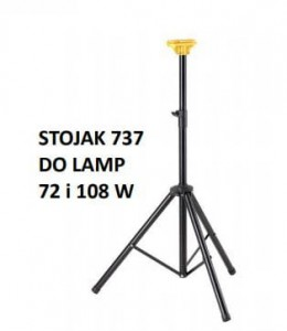 Stojak Future Stand z systemem click-head  do lamp UVC  Sterilon 72 W i 108 W