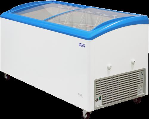 W Mega Zamrażarka 511 litrów, 150x69,5 h-85 cm, boneta do lodów i VJ81